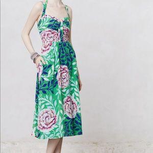 Anthropologie Moulinette Soeurs Midi Dress
